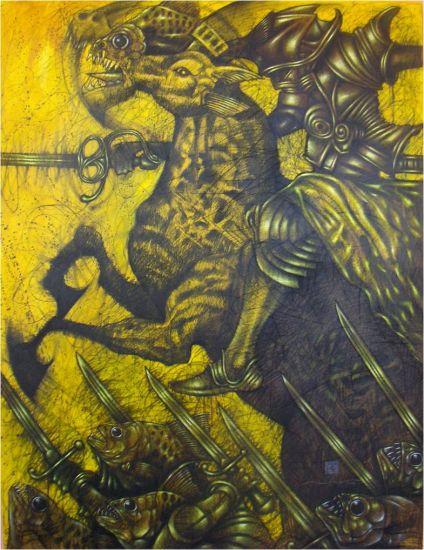 """""""San Jorge, el Caballo Caribe y la Batalla del Rio """"San José"""","""
