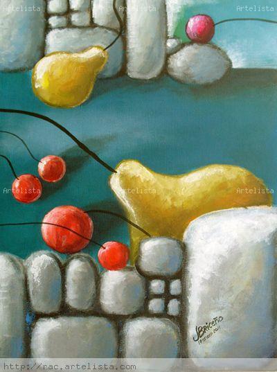 Trópico de tauro XIV Acrylic Canvas Still Life Paintings