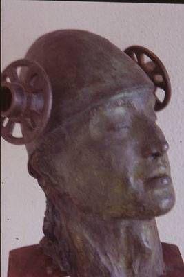 el guerrero soñador Bronce Figurativa