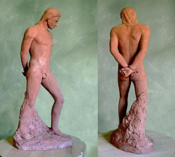 El esclavo Terracotta Figurative