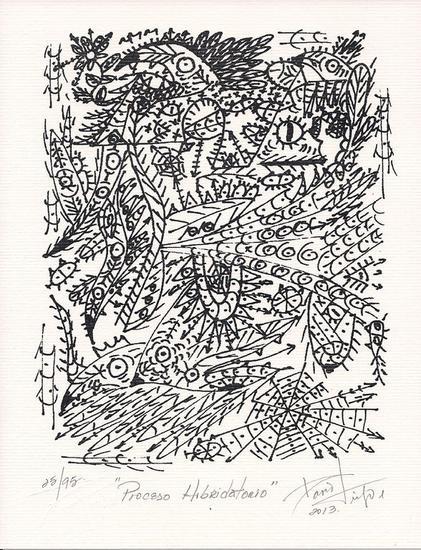 PROCESO HIBRIDATORIO (litografia) Litografía