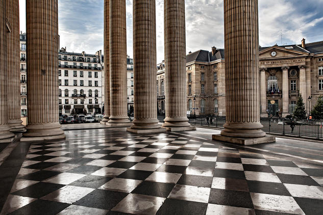 Le Panthéon, Paris Arquitectura e interiorismo Color (Digital)