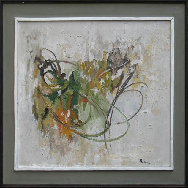 Abstracto Todos los caminos llegan al cielo Canvas Oil Figure Painting