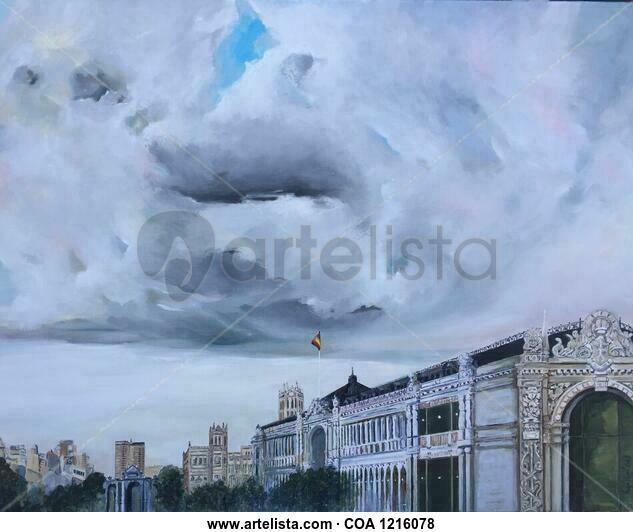 De Moneo al cielo. Others Oil Canvas