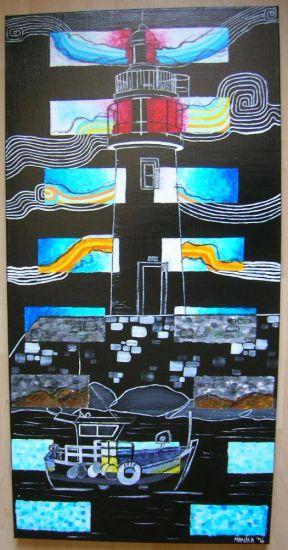 Piéces de Mer Acrylic Canvas