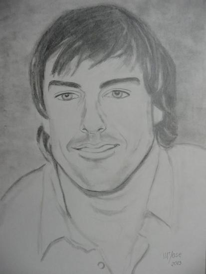 Fernando Alonso Lápiz