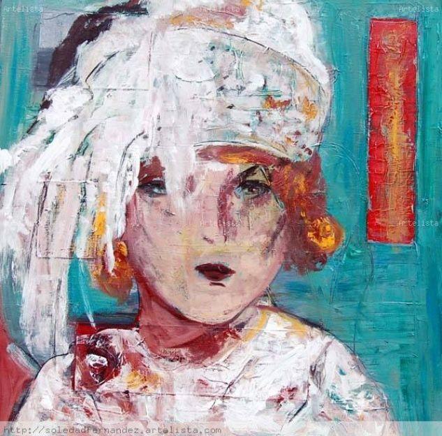 dama con turbante