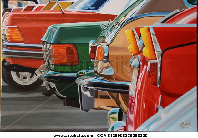 Coches Canvas Oil Landscaping