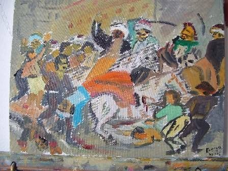 Clasicos Goya La Carga De Los Mamelucos Francisco Crespo Artelista Com