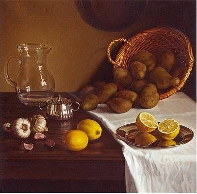 Papas y limones | Cuadro