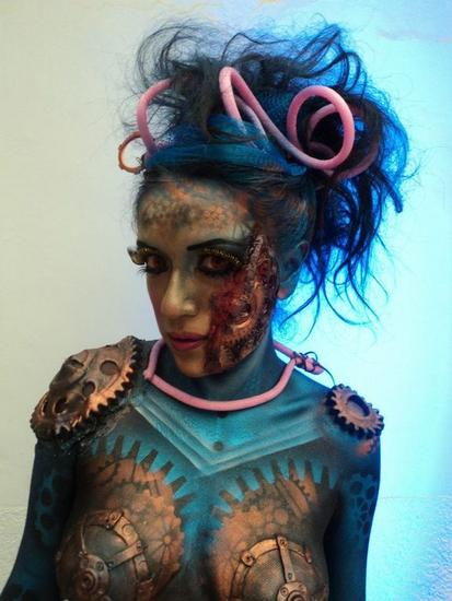 BODY PAINT CONCURSO NACIONAL Leather Watercolour Others