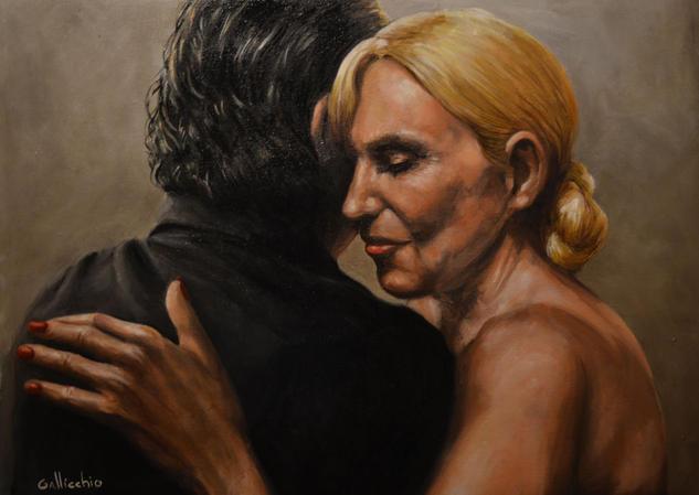 tango for sport 3 Retrato Óleo Tela