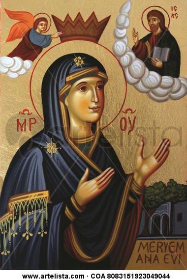 Mother of God / Madonna / Virgen con el Nino Otros Gouache Otros