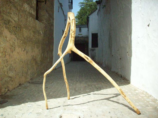 Bichito-palo. Figurativa Madera