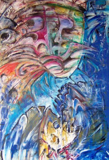 Zeit-Punkt: Neu-Art/Time-Point: New-Art/Hora-Punto: Nuevo-Art Acrílico Otros Figura