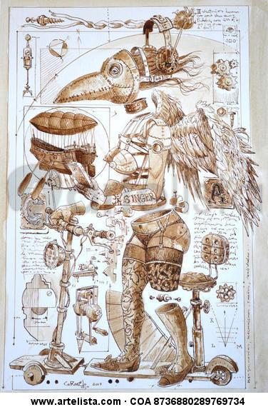 Maquinarias y mecanismos... Tinta
