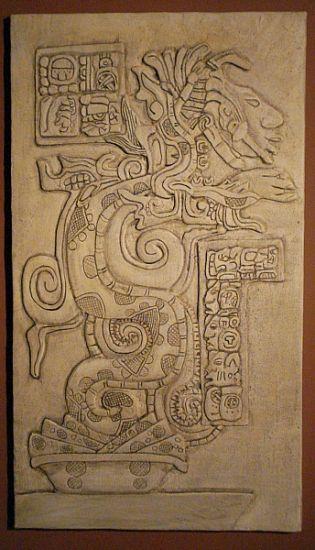 Serpiente Maya Figurativa Mixta