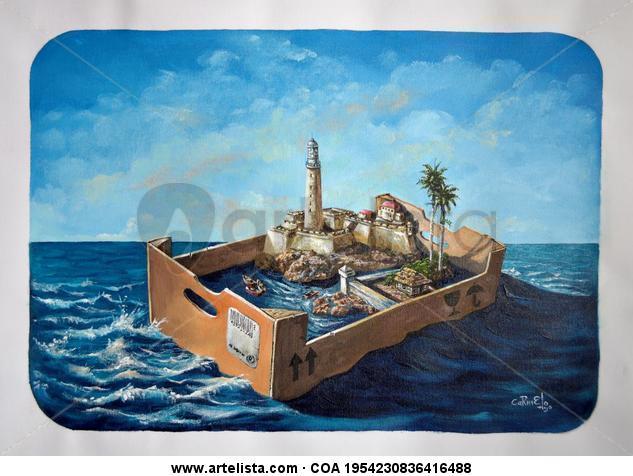 Serie Objetos Flotantes (Floating Objects).