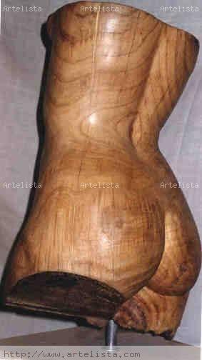 busto femenino Madera Figurativa
