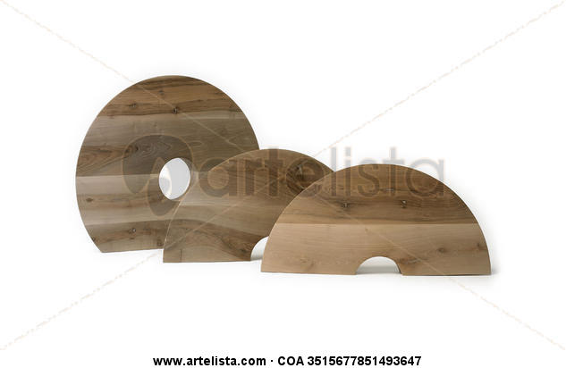 Son Tres Abstract Wood