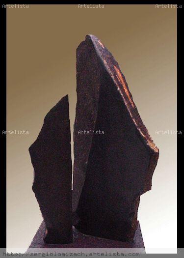 Estelas Piedra Abstracta
