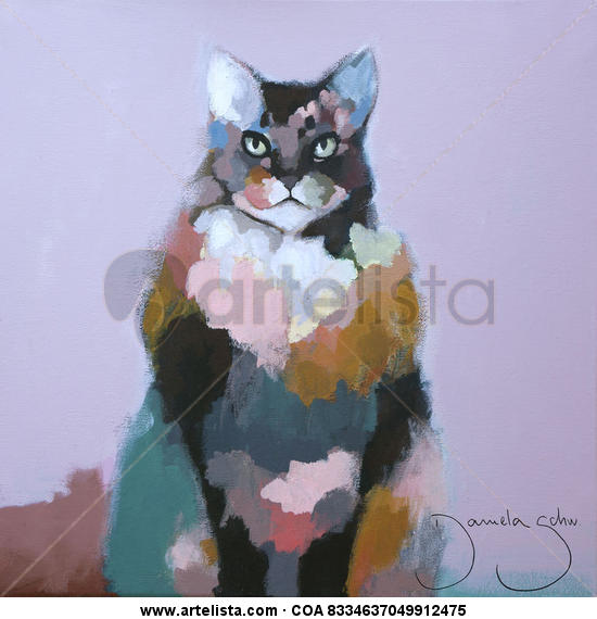 GATO Acrylic Animals Canvas