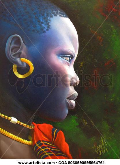 niña de raza negra 31