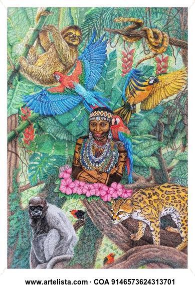 Amazonas Rotulador