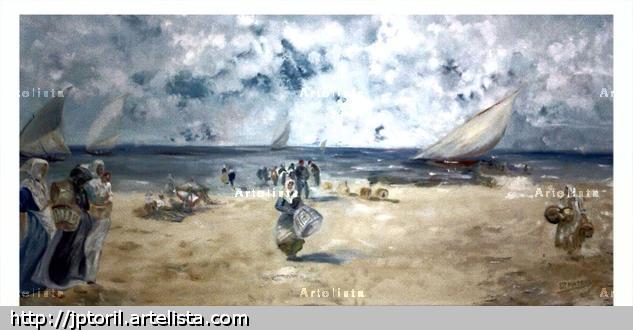 pescadoras de la malvarrosa