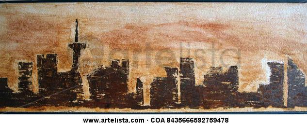 skyline oxido Otros Industrial Paisaje