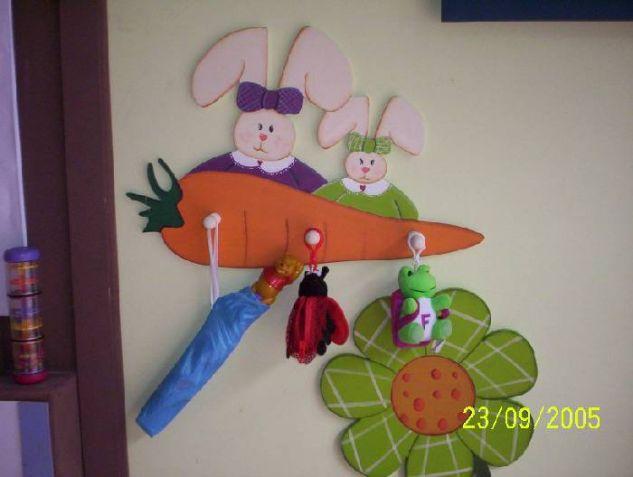 Conejos Decoración Muebles y Objetos de Madera