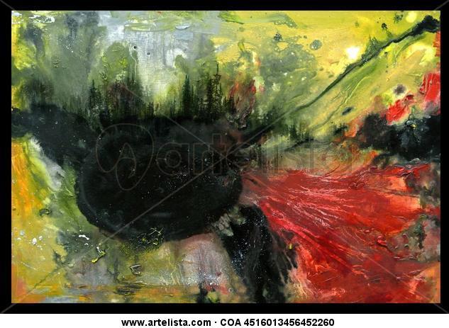 Paisaje Con Pinos 1 Canvas Oil Landscaping