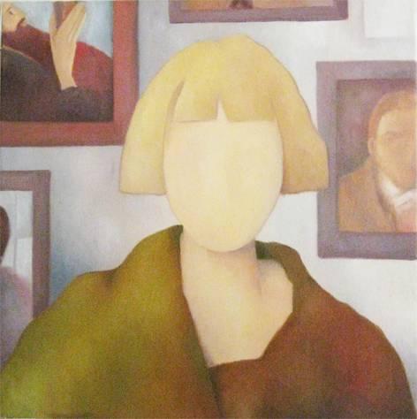 Carrington Óleo Lienzo Retrato