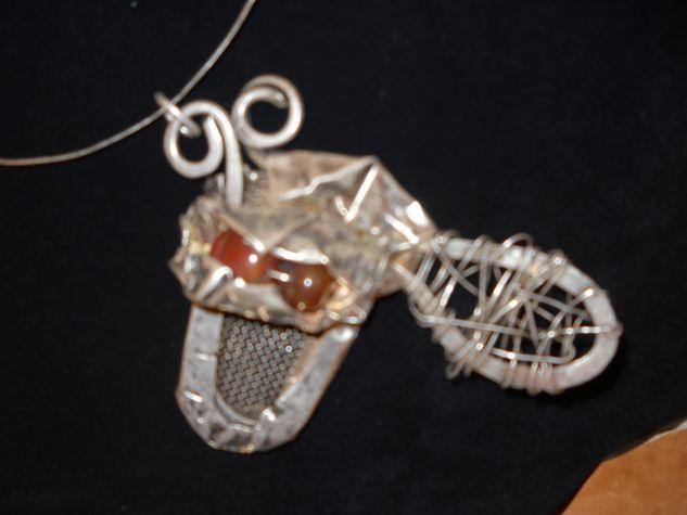 colgante de plata antigua