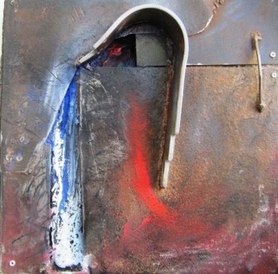 SERIE: AL FINAL DE LA TARDE 1-12 Metal Abstracta