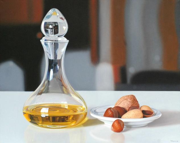 Nut oil Óleo Lienzo Paisaje