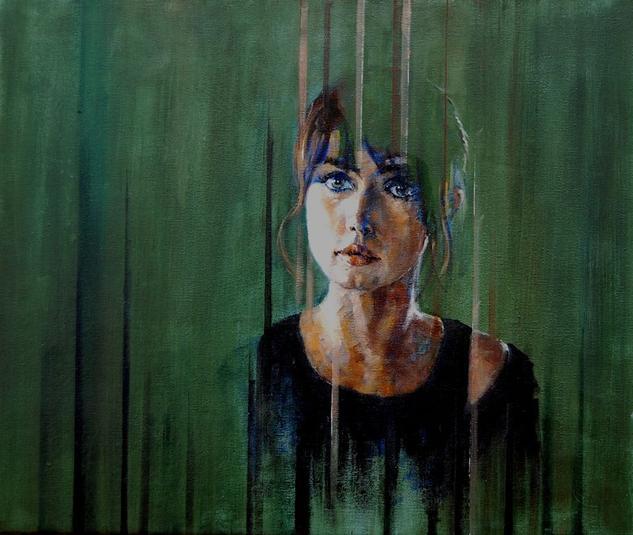 Modelo 007 2017 Canvas Oil Portrait