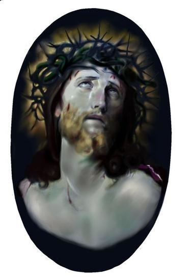 LA PASION DE CRISTO RETRATO Retrato De vidriera Otros