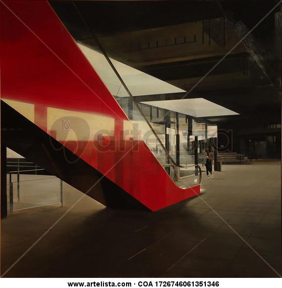 La escalera roja