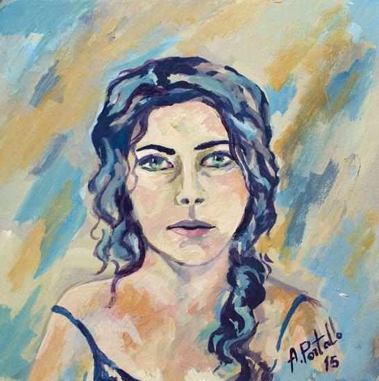 Autorretrato I Otros Acrílico Retrato
