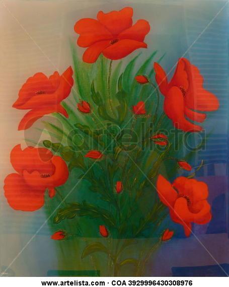 Bouquet de Coqulicots