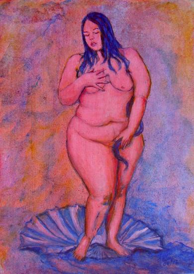 Eros 01 Tabla Acrílico Desnudos