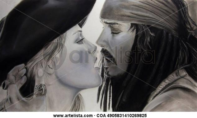 Amor pirata/ Pirate´s love Carboncillo