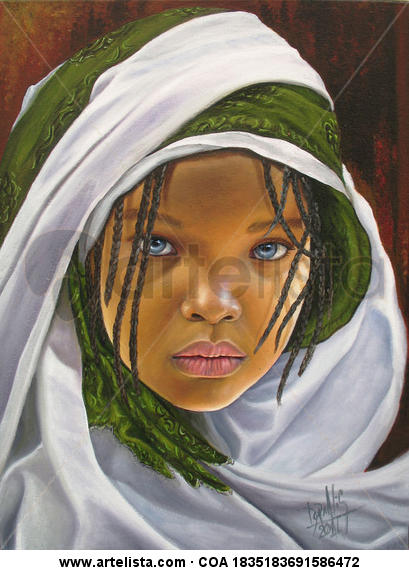 niña de raza negra 37