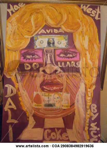 AVIDA DOLLARS Figura Lienzo