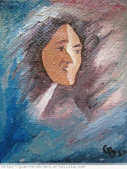 mujer luz Figure Painting Canvas Oil