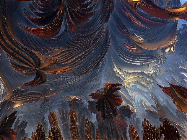Paisaje fractal