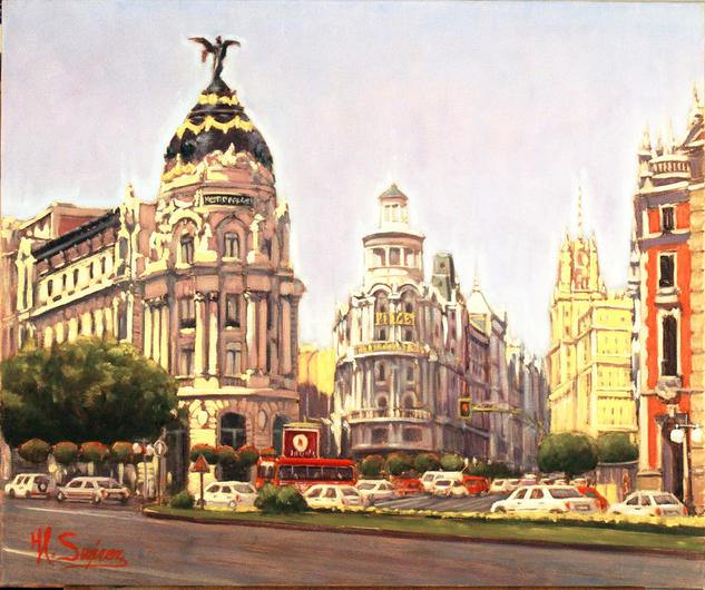 madrid.- gran via