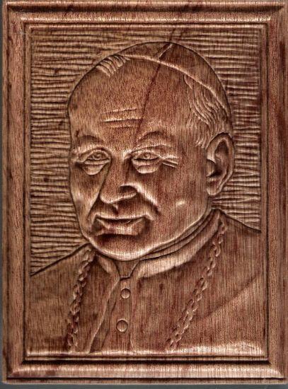 Juan Pablo II Talla Muebles y Objetos de Madera