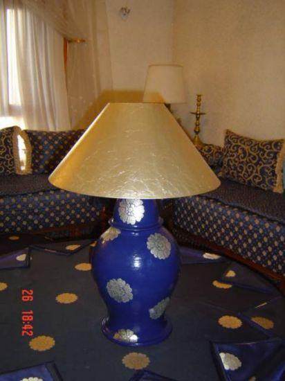 lampara azul Acrílico Otros